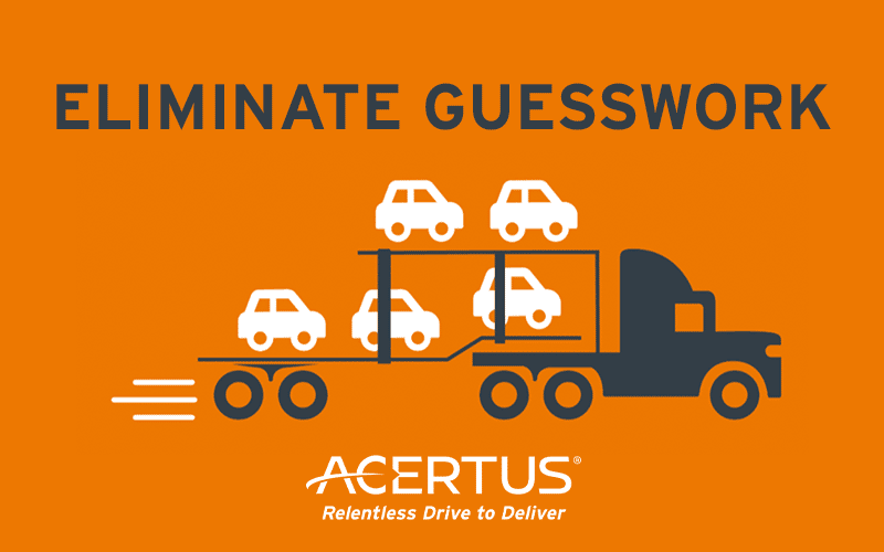Eliminate Transportation Guesswork