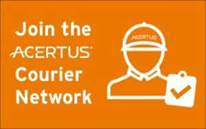 Join the ACERTUS courier network