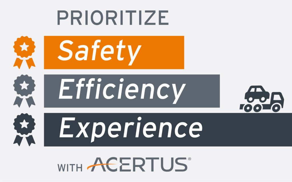 Prioritize safety, efficiency & experience with ACERTUS
