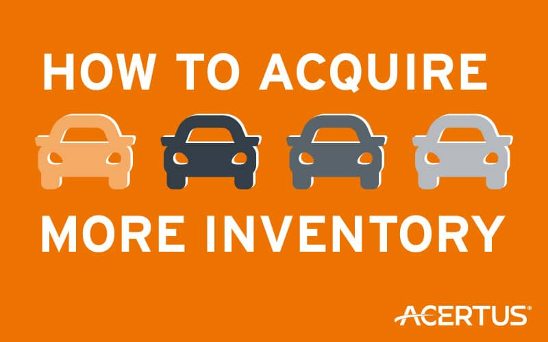 How To Acquire More Inventory
