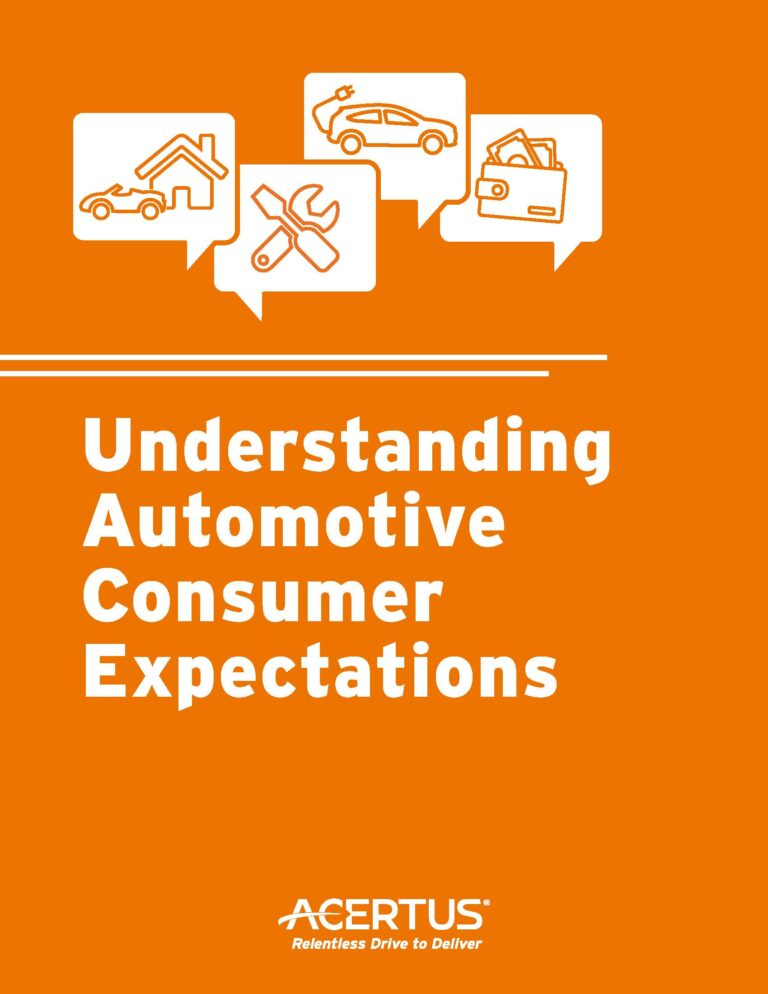 Understanding Automotive Consumer Expectations