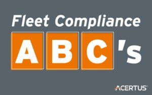 Fleet Compliance ABC's