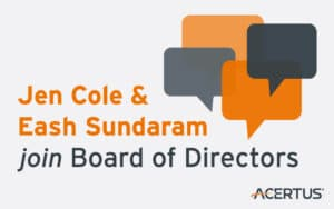Jen Cole & Eash Sundaram join Board of Directors