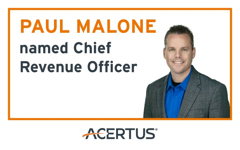 Paul Malone named Chief Revenue Officer